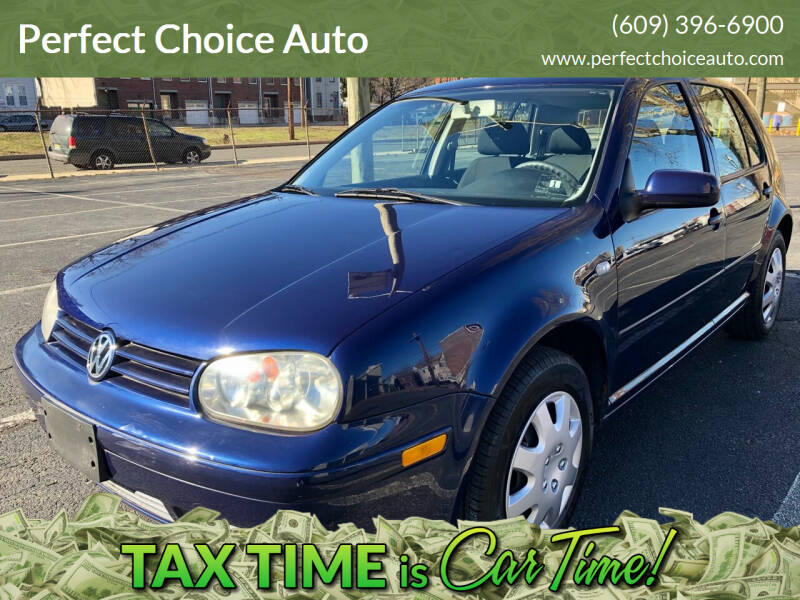 2004 Volkswagen Golf for sale at Perfect Choice Auto in Trenton NJ