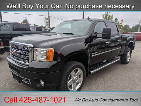 2013 GMC Sierra 2500HD for sale at Platinum Autos in Woodinville WA