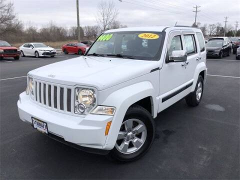 2012 Jeep Liberty for sale at White's Honda Toyota of Lima in Lima OH