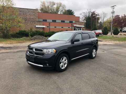 2012 Dodge Durango for sale at DILLON LAKE MOTORS LLC in Zanesville OH
