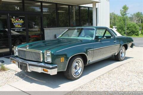 1977 Chevrolet Malibu for sale at Corvette Mike New England in Carver MA