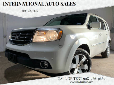 2014 Honda Pilot for sale at International Auto Sales in Hasbrouck Heights NJ