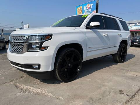 2017 Chevrolet Tahoe for sale at MAGIC AUTO SALES, LLC in Nampa ID