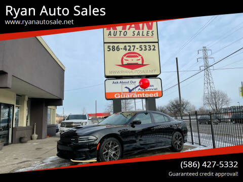2017 Dodge Charger for sale at Ryan Auto Sales in Warren MI
