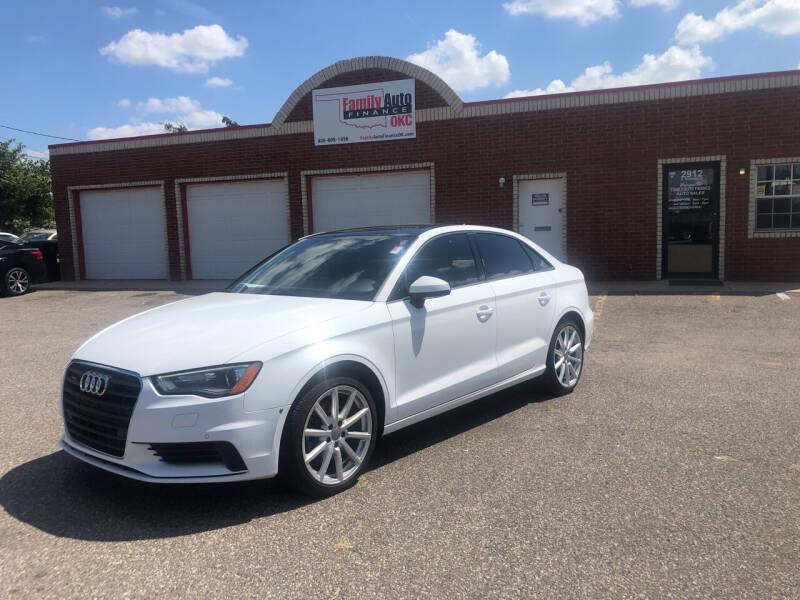 2016 Audi A3 for sale at Family Auto Finance OKC LLC in Oklahoma City OK
