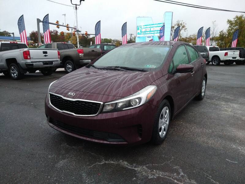 2017 Kia Forte for sale at P J McCafferty Inc in Langhorne PA