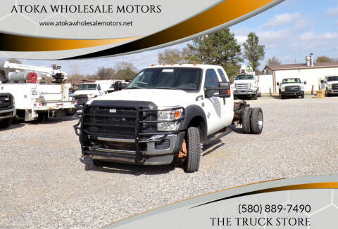 2013 Ford F-550 Super Duty for sale at ATOKA WHOLESALE MOTORS in Atoka OK