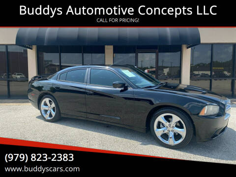 2014 Dodge Charger for sale at Buddys Automotive Concepts LLC in Bryan TX