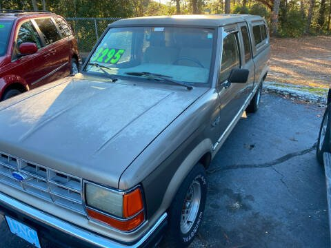 1990 Ford Ranger for sale at TOP OF THE LINE AUTO SALES in Fayetteville NC
