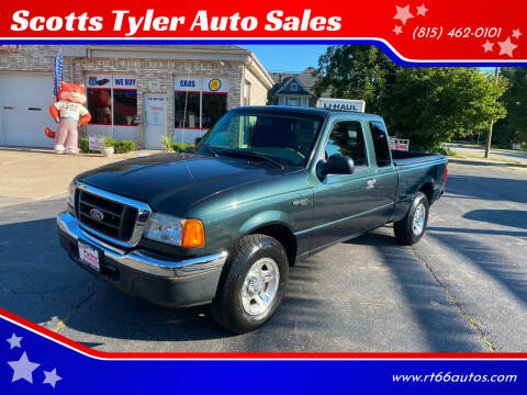 2004 Ford Ranger for sale at Scotts Tyler Auto Sales in Wilmington IL
