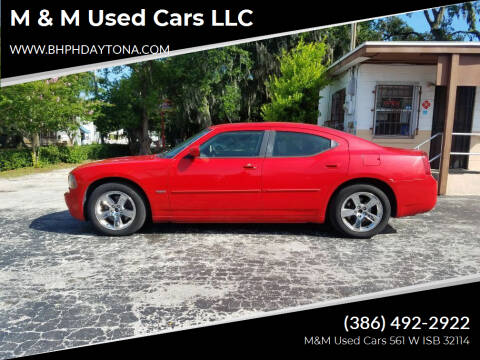 2010 Dodge Charger for sale at M & M Used Cars LLC in Daytona Beach FL
