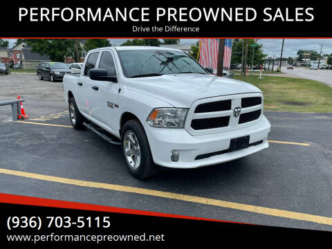 2017 RAM Ram Pickup 1500 for sale at PERFORMANCE PREOWNED SALES in Conroe TX