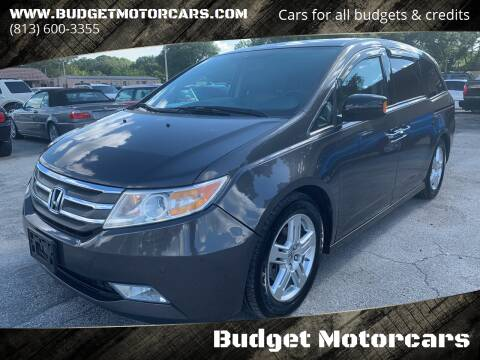 2012 Honda Odyssey for sale at Budget Motorcars in Tampa FL