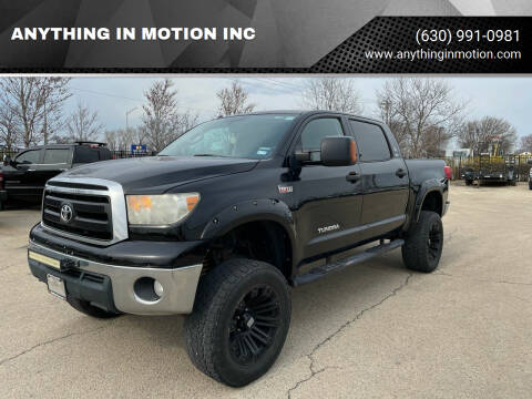 2012 Toyota Tundra for sale at ANYTHING IN MOTION INC in Bolingbrook IL