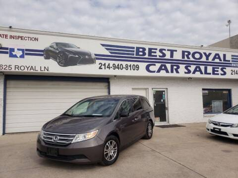 2012 Honda Odyssey for sale at Best Royal Car Sales in Dallas TX