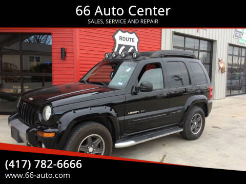 2003 Jeep Liberty for sale at 66 Auto Center in Joplin MO