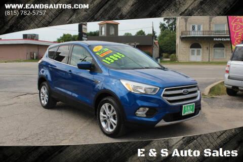 2017 Ford Escape for sale at E & S Auto Sales in Crest Hill IL