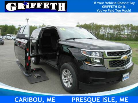 2016 Chevrolet Suburban for sale at Griffeth Mitsubishi - Pre-owned in Caribou ME