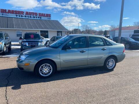 2005 Ford Focus for sale at BLAESER AUTO LLC in Chippewa Falls WI
