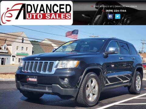 2011 Jeep Grand Cherokee for sale at Advanced Auto Sales in Dracut MA