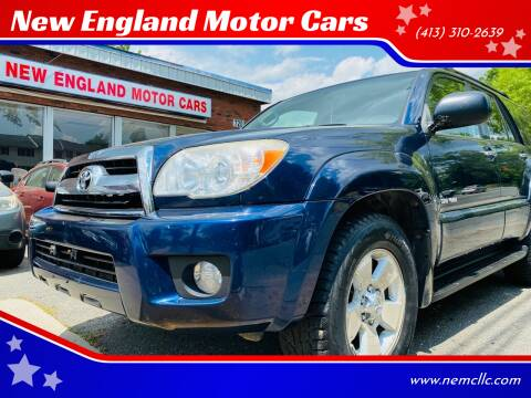 2007 Toyota 4Runner for sale at New England Motor Cars in Springfield MA