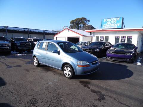 2006 Chevrolet Aveo for sale at Surfside Auto Company in Norfolk VA