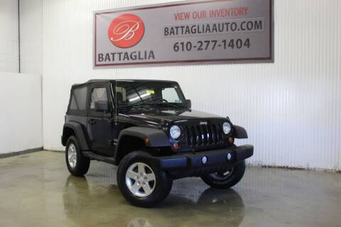 2011 Jeep Wrangler for sale at Battaglia Auto Sales in Plymouth Meeting PA