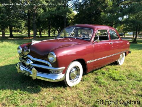 1950 Ford Custom for sale at MIDWAY AUTO SALES & CLASSIC CARS INC in Fort Smith AR