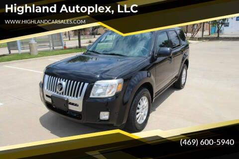2010 Mercury Mariner for sale at Highland Autoplex, LLC in Dallas TX