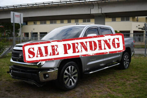 2020 Toyota Tundra for sale at ELITE MOTOR CARS OF MIAMI in Miami FL