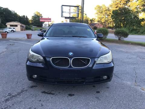 2006 BMW 5 Series for sale at CAR STOP INC in Duluth GA