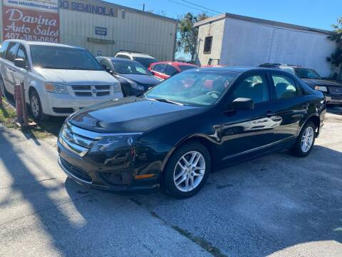 2010 Ford Fusion for sale at DAVINA AUTO SALES in Casselberry FL