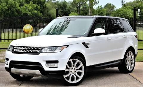 2014 Land Rover Range Rover Sport for sale at Texas Auto Corporation in Houston TX