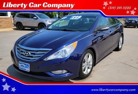 2012 Hyundai Sonata for sale at Liberty Car Company in Waterloo IA