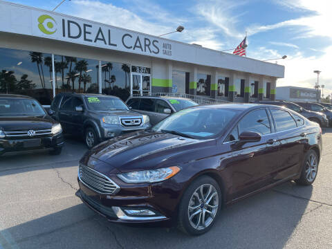 2017 Ford Fusion for sale at Ideal Cars Atlas in Mesa AZ