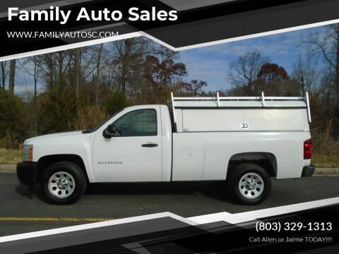 2011 Chevrolet Silverado 1500 for sale at Family Auto Sales in Rock Hill SC