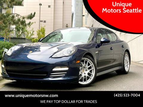 2011 Porsche Panamera for sale at Unique Motors Seattle in Bellevue WA