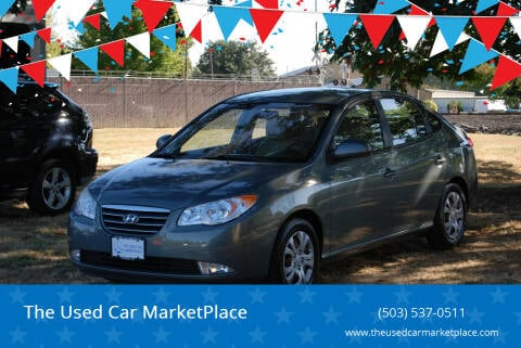2010 Hyundai Elantra for sale at The Used Car MarketPlace in Newberg OR