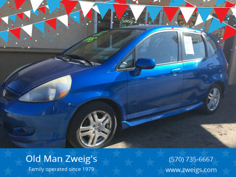 2007 Honda Fit for sale at Old Man Zweig's in Plymouth Township PA