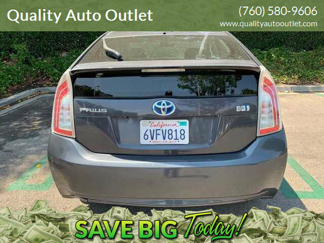 2012 Toyota Prius for sale at Quality Auto Outlet in Vista CA