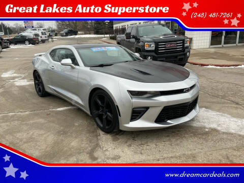 2018 Chevrolet Camaro for sale at Great Lakes Auto Superstore in Pontiac MI