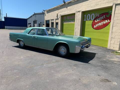 1961 Lincoln Continental for sale at Auto Financial Group LLC in Flat Rock MI
