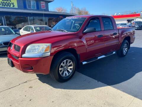 2007 Mitsubishi Raider for sale at Wise Investments Auto Sales in Sellersburg IN