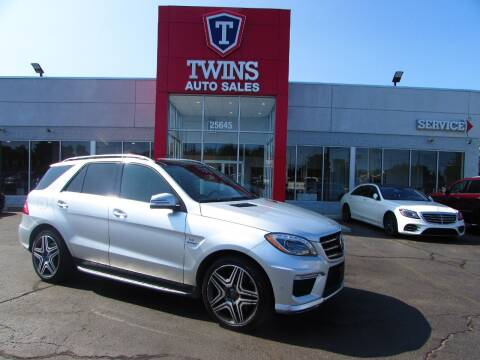 2014 Mercedes-Benz M-Class for sale at Twins Auto Sales Inc Redford 1 in Redford MI