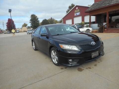 2010 Toyota Camry for sale at Boyett Sales & Service in Holton KS