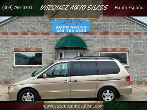 2001 Honda Odyssey for sale at VAZQUEZ AUTO SALES in Bloomington IL