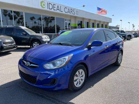 2012 Hyundai Accent for sale at Ideal Cars Apache Junction in Apache Junction AZ