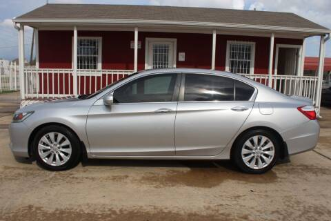 2015 Honda Accord for sale at AMT AUTO SALES LLC in Houston TX
