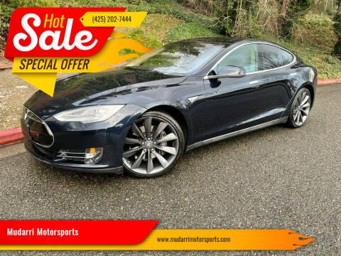 2012 Tesla Model S for sale at Mudarri Motorsports in Kirkland WA
