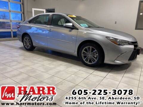 2015 Toyota Camry for sale at Harr's Redfield Ford in Redfield SD